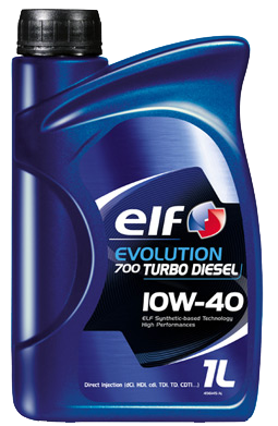 ELF EVOLUTION 700 TURBO DIESEL 10W40