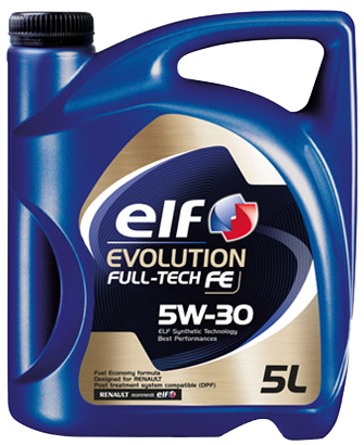 ELF EVOLUTION FULL-TECH FE 5W30